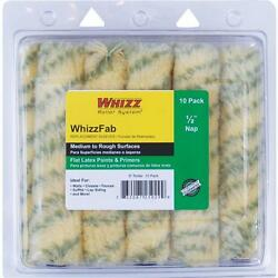 10-whizzfab 6 X 1/2 Nap Polyamide Fabric Mini Paint Roller Cover 10/pk 25029