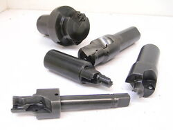 Lot 6 Used 5pcs. Of Carbide Insert Indexable Porting Tools Various Styles