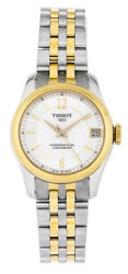 Tissot Ballade Powermatic 80 Cosc Automatic Two Toned Steel Watch T1082082211700