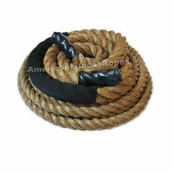 Fitness Rope 1-1/2 X 50' Manila Fitness, Exercise And Undulation Rope