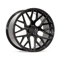20 Rohana Rfx10 Gloss Black Forged Concave Wheels Rims Fits Ford Mustang Gt