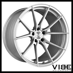 19 Vertini Rf1.2 19x8.5 Silver Forged Concave Wheels Rims Fits Audi C6 A6