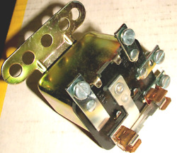 Headlight Relay 12 Volt 4 Blade Terminals With Fuse Universal Upper Lower Beam