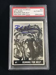 1966 Topps Lost In Space Billy Mumy Will Robinson Signed Rookie Rc Card Psa/dna
