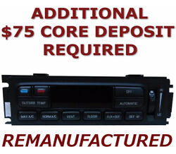 Reman 95 96 97 Ford Explorer Mountaineer Heater Climate Control Eatc Exchange