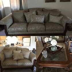 Basset Brand Couches great condition table included if wanted.  Must pick up