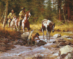 Howard Terpning The Nectar Of The Gods Canvas Sold Out – Limited Edition