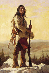 Howard Terpning The Long Trail Ahead Sold Out Andndash Limited Edition