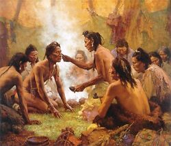 Howard Terpning Blessing From The Medicine Man Sold Out Limited Edition