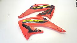Fuel Tank Covers Honda Crf450r Crf 450 Side Plastic Guards Shrouds 2003-2004