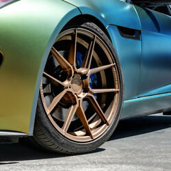 20 Ferrada F8-fr8 Bronze Forged Concave Wheels Rims Fits Honda Accord Coupe