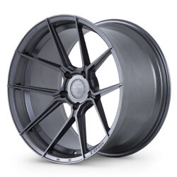 20 Ferrada F8-fr8 Graphite Forged Concave Wheels Rims Fits Cadillac Cts Coupe