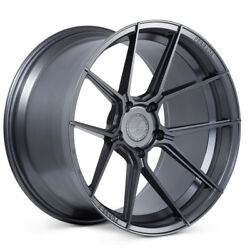 20 Ferrada F8-fr8 Graphite Forged Concave Wheels Rims Fits Toyota Camry
