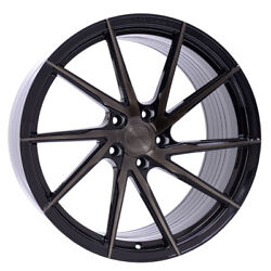 22 Stance Sf01 Black Concave Wheels Rims Fits Land Rover Range Rover