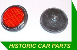 Bedford 1/6 Ton Td 1953-60 - 2 Red Reflectors Replace Lucas 57074