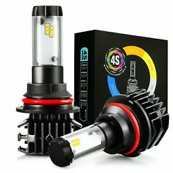 JDM ASTAR 4S 8000LM 9007/HB5 Auto LED Headlight Hi/Low Beam Bulb Kit White 8000