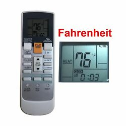 Replacement for Fujitsu Air Conditioner Remote Control Ar-Rah2u Ar-Rah... NO TAX