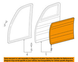 TOYOTA OEM 98-07 Land Cruiser-Door Skin Outer Panel Left 6711260290