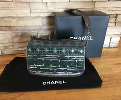 Chanel Sequin Messenger Bag $9800 RARE - Impeccable Condition