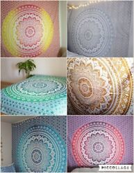 Wholesale lot 10 pc mandala hippie tapestry wall hanging indian dorm decorative