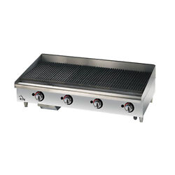 Star Manufacturing 6148rcbf, 48-inch Countertop Radiant Gas Charbroiler, Ul, Cul