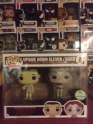 Funko Pop Stranger Things Upside Down Eleven / Barb [eccc] W/ Free Pop Protector
