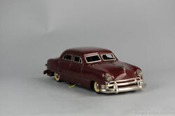 Antique Tin Toy Distler Battery Jaguar Western Germany Sports Car Lithography