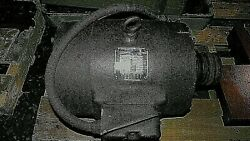 Clausing Colchester 15 Inch Lathe Motor Newman 7-1/2 Hp Motor
