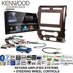 Kenwood DDX9704S Double Din CD Player Car Radio Install Mount Kit