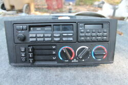 BMW E34 CLIMATE CONTROL UNIT AC HEATER COMPUTER TAPE PLAYER