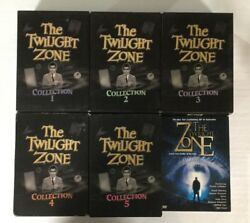 The Twilight Zone Complete Collection Plus 2002 Revival Series 51 Disc Set