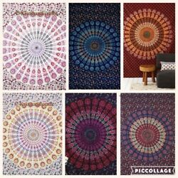 Wholesale Lot 10pc Dorm Decor Tapestries Hippie Throw Wall Hanging Art Bohemian
