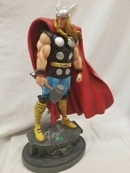 Bowen Designs Signed By Stan Lee Thor Classic Museum Statue 15 Avengers Hulk .