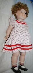 24 Vintage Roman Porcelain Shirley Temple Doll W/moving Arms And Legs Rare