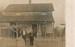 Uncle Isril's Place Where They Now Live At Present, Dalton, Ohio Rppc