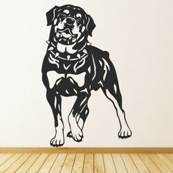 Rottweiler Pets Dogs Wall Decal Sticker Ws-32624