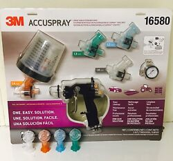 3m 16580 Accuspray Gun System With Pps 3m-16580 Extra Tips