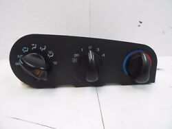 OEM 95-96 Chevy Monte Carlo Center ConsoleDashboard Climate Control Interface