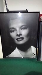 George Hurrell Signed And Numbered Photo Of Katherine Hepburn 4 Feet X 3 Feet