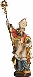 Statua San Clemente Con Ancora St Clement With Anchor Wood-carved Statue