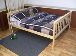 Versaloft Amish-made Yellow Pine Full Mission Bed By Aandl Furniture Company