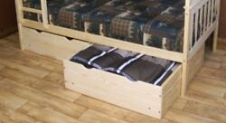 Versaloft Amish-made Yellow Pine 2 Piece Twin Bed Drawers By Aandl Furniture Co.