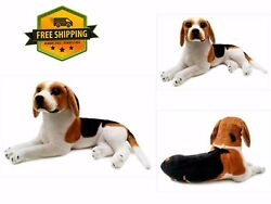 17 Inch Brittany The Beagle STUFFED ANIMAL Plush Dog Cuddle Toy GIFT For Kids
