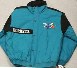 Vintage 1990and039s Nba Charlotte Horntets Middle Weight Jacket