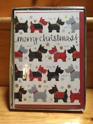 Scottish Terrier* Christmas* Cards 16 Cards  Brand New!