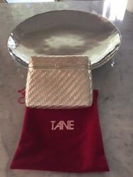 TANE Silver Clutch 100% Silver from Designer TANE in MEXICO