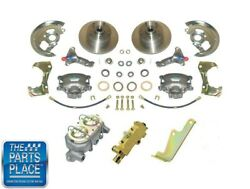 64-72 Chevrolet Chevelle Malibu Manual Disc Brake Conversion Without Booster