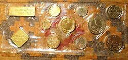 10 Russia Olympic 1980 Mint Coin Sets Ussr Soviet Unc Russian Token And Nine Coins