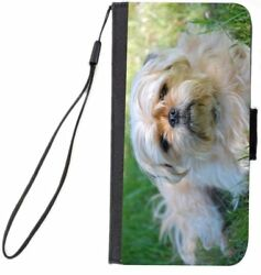 Rikki Knight Yorkshire Terrier and Pug Mix Design Cell Phone Case for Samsung -