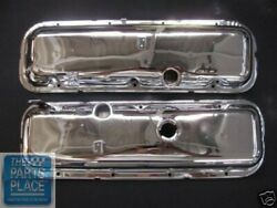 1969 Chevrolet Camaro Big Block Factory Style Valve Covers - Bb W/drippers -pair